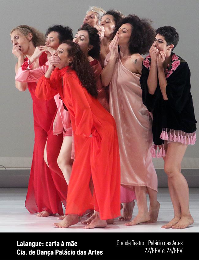 Evento: lalangue: carta à mãe - Cia. de Dança Palácio das Artes | Campanha de Popularização Teatro & Dança
