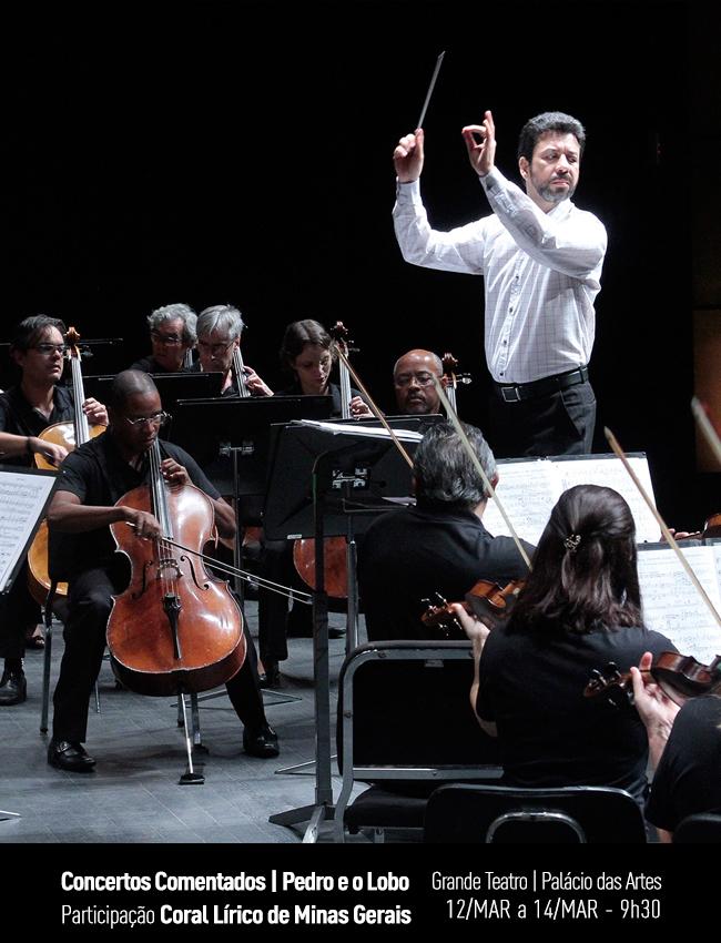 Evento: Concertos Comentados | Pedro e o Lobo