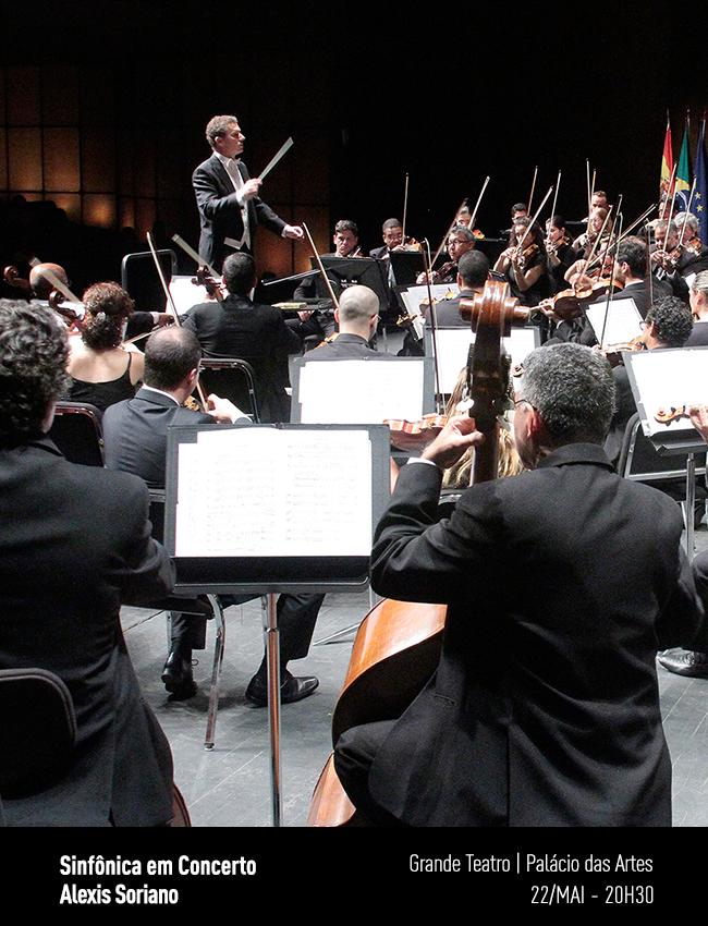 Evento: Sinfônica em Concerto   Alexis Soriano