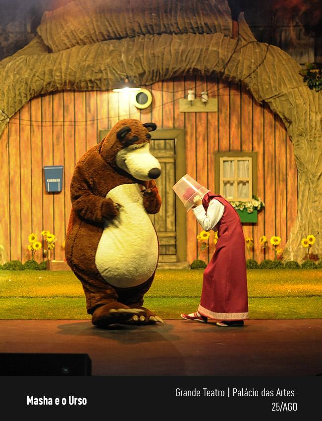 Evento: Masha e o Urso