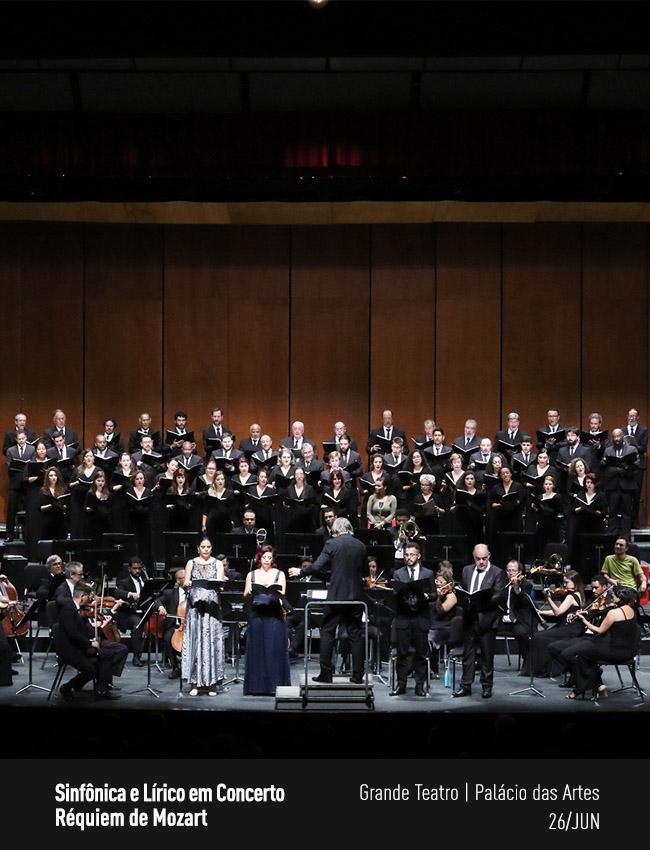 Evento: Sinfônica e Lírico em Concerto | Réquiem de Mozart