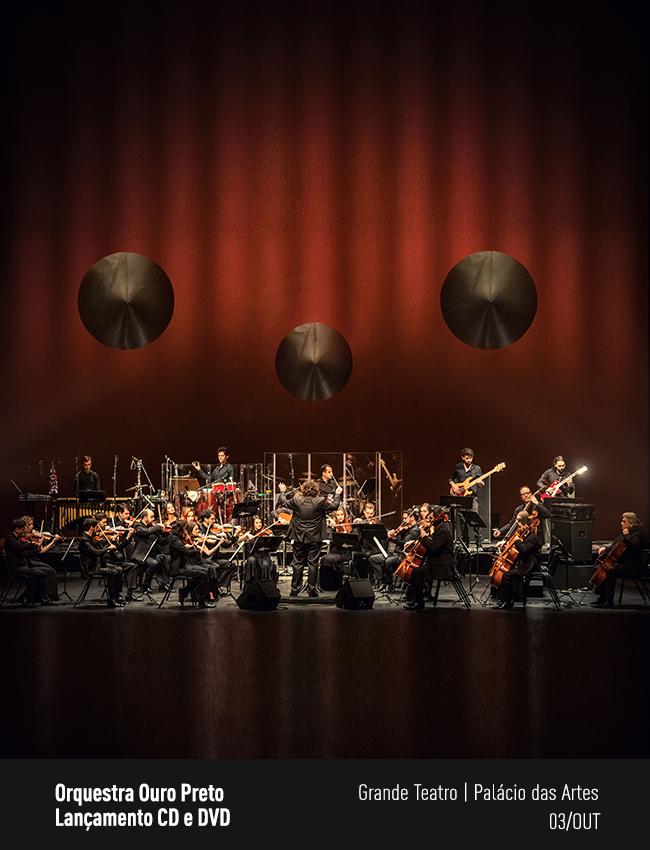 Evento: Orquestra Ouro Preto | Lançamento CD e DVD