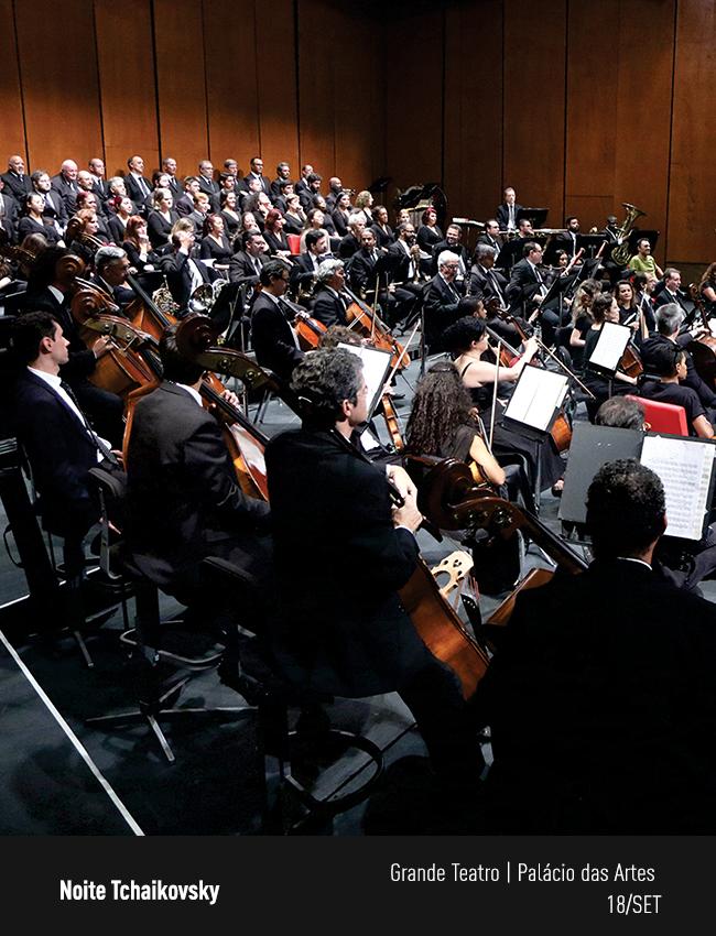 Evento: Sinfônica e Lírico em Concerto | Noite Tchaikovsky