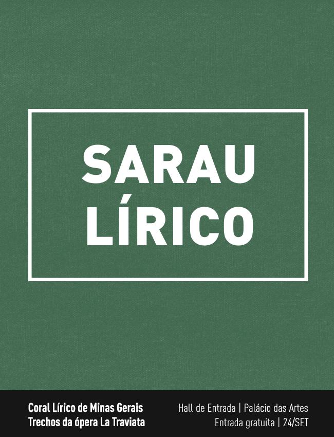 Evento: Sarau Lírico | Trechos da Ópera La Traviata