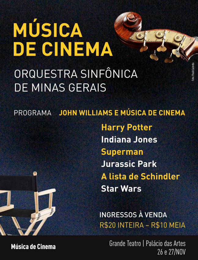 Evento: Música de Cinema