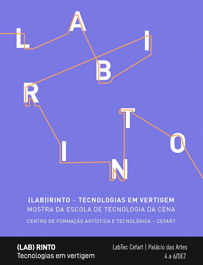 Evento: (Lab)rinto | Mostra de Tecnologias da Cena