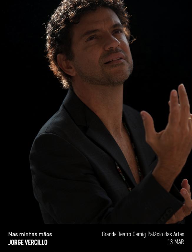 Evento: Jorge Vercillo | Nas Minhas Mãos