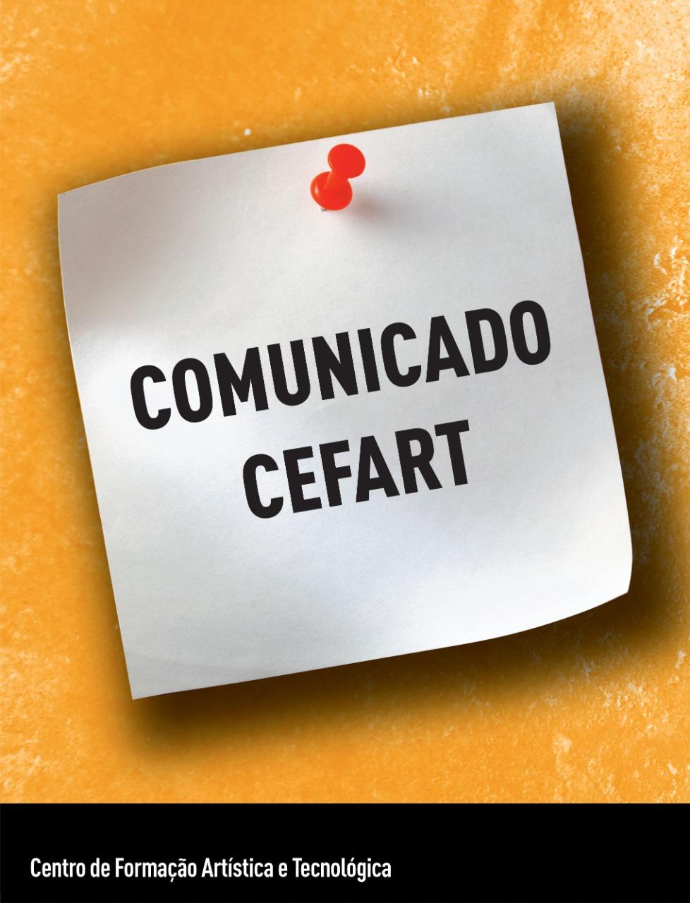 Evento: COMUNICADO CEFART