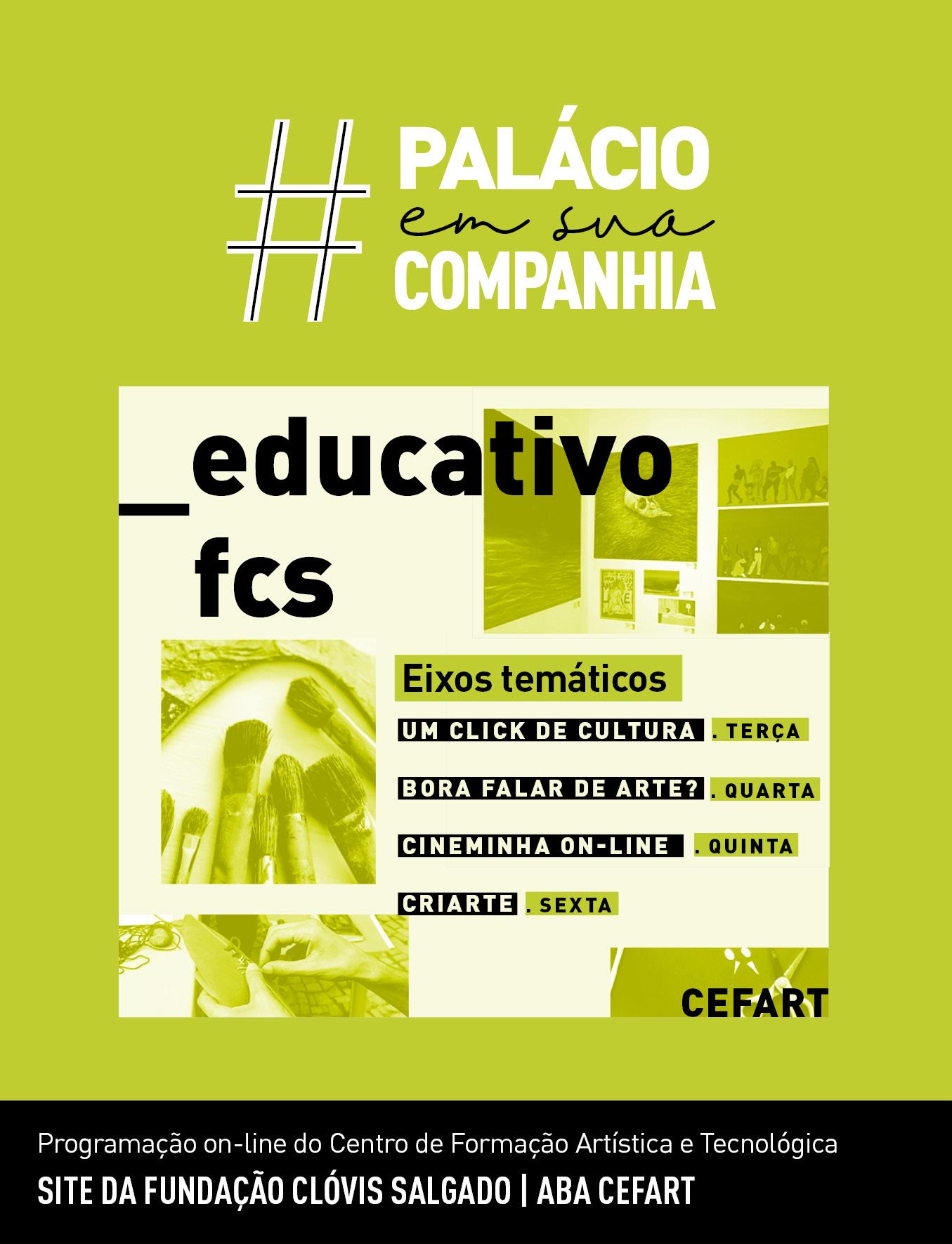 Evento: Fundação Clóvis Salgado oferece atividades gratuitas de arte educação pela internet