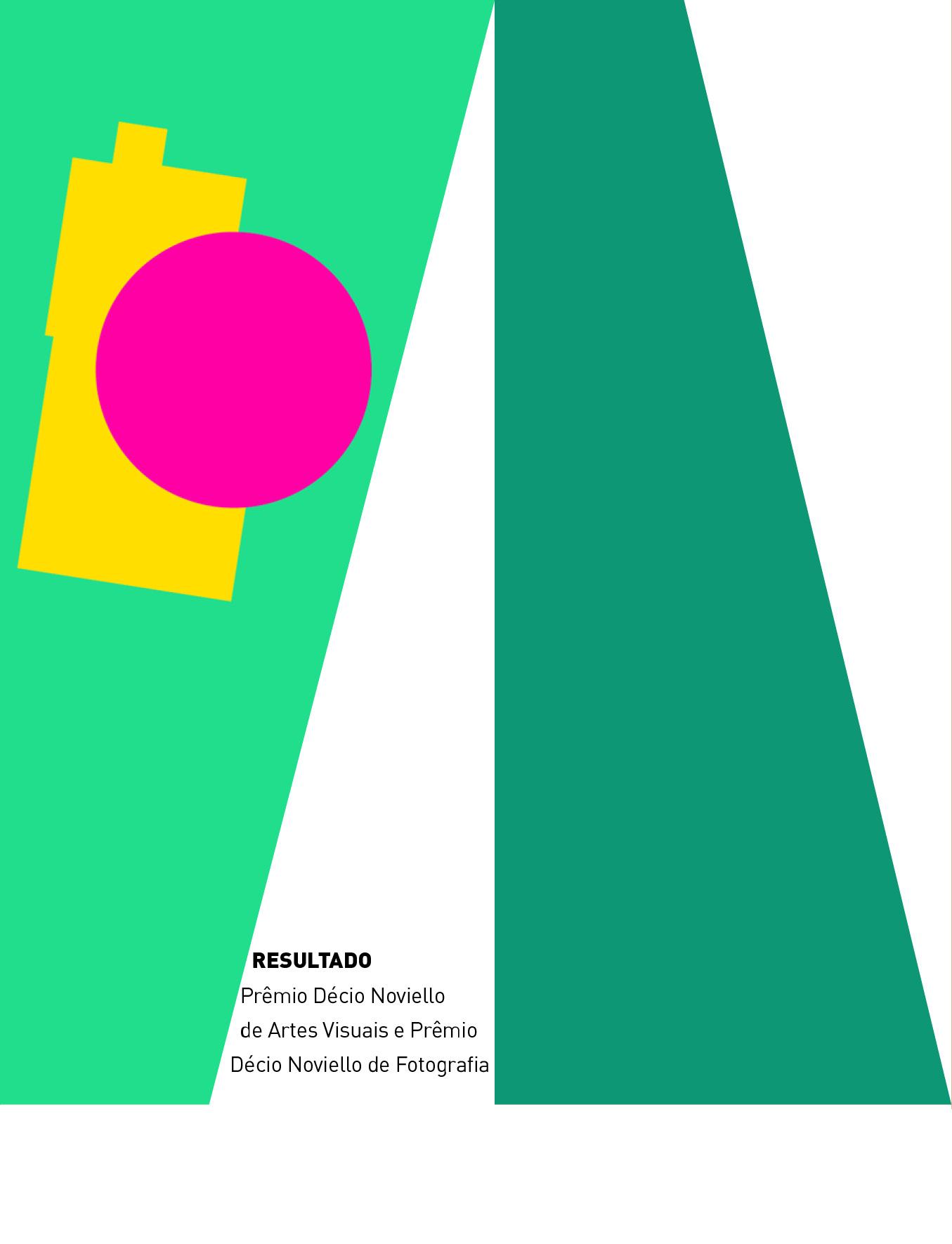 Evento: Resultado | Prêmio Décio Noviello de Artes Visuais e Prêmio Décio Noviello de Fotografia