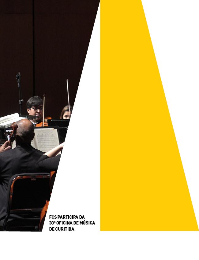 Evento: FCS integra a programação da 38ª Oficina de Música de Curitiba