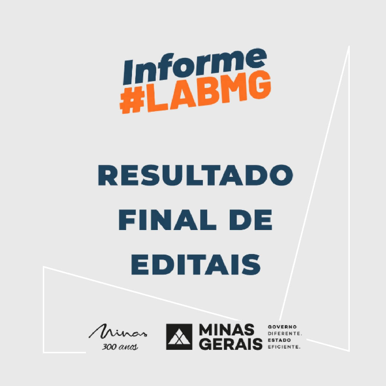 Evento: Resultado final dos Editais 16/2020 e 19/2020 - LAB