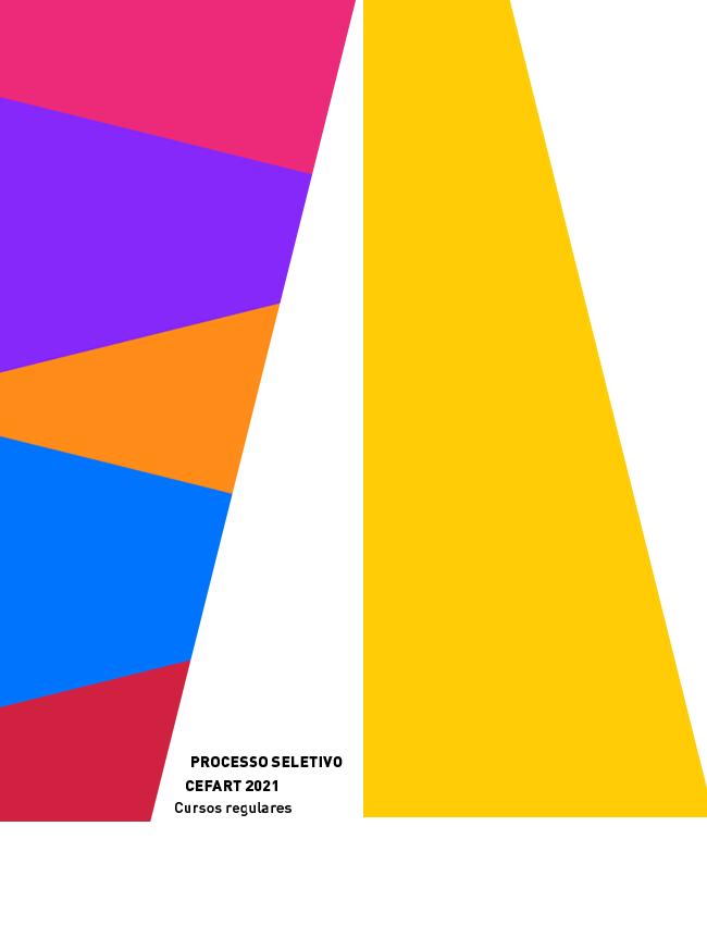 Evento: INSCRIÇÕES ABERTAS | Processo Seletivo CEFART 2021