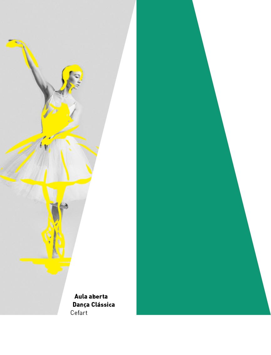 Evento: Aulas on-line sobre os espetáculos de formatura do curso de Dança, do Cefart